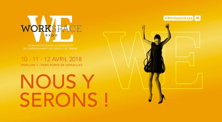Photo Workspace exposition paris 2018 Orosound solution anti-bruit