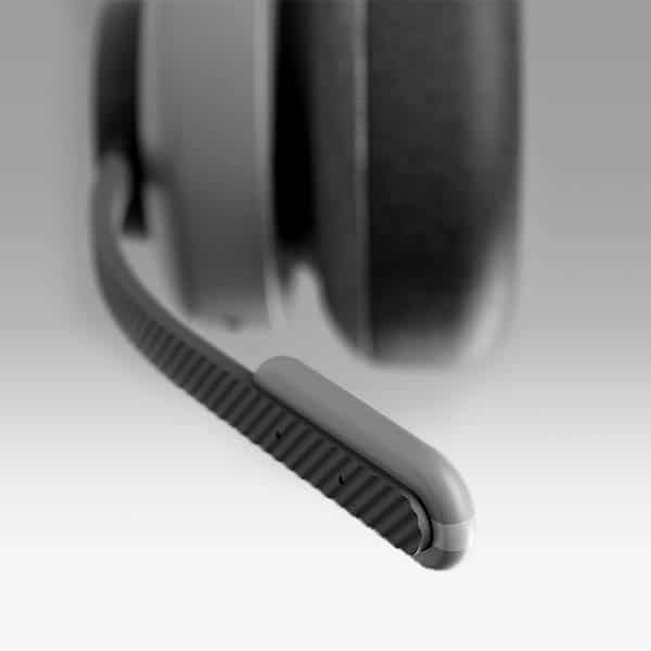 casque made-in-france tilde pro : micro-bouche détachable